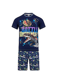 Jurassic World Boys Short Pyjamas - Blue