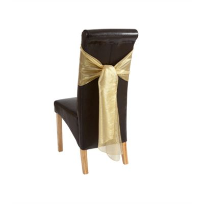 Hamilton Mcbride Let's Party Pack of 2 Chair Bows - Gold
