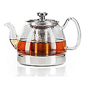 Judge Hob Top Glass Teapot with Infuser for All Hob Types 1.2 Litre