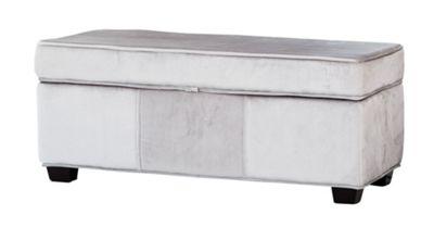 Sofa Collection Laguna Footstool - Light Grey