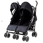 Zeta Citi Twin Buggy - Black