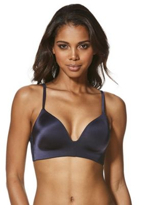 F&F Perfect Lace Wing Non-Wired Bra Youth (53-55cm) Navy