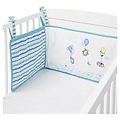 Penguin Cot Bed Bumper