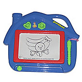 A to Z Magic Drawing Board Blue