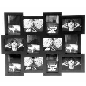 Collage Photo Frame, Black