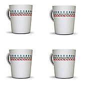 Witley Melamine Mug (Pack of 4)
