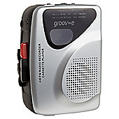 Groov-e Personal Cassette Player and Recorder with radio