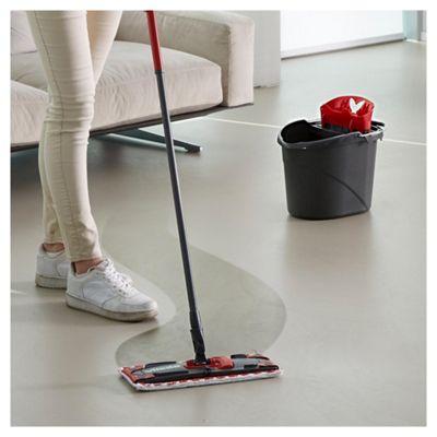 how to clean vileda micofibre mop