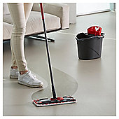 Vileda Ultramax Complete Set of Microfibre Flat Mop, Bucket and Wringer