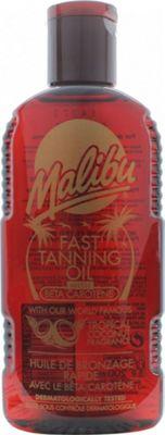 Malibu Fast Tanning Oil 200ml
