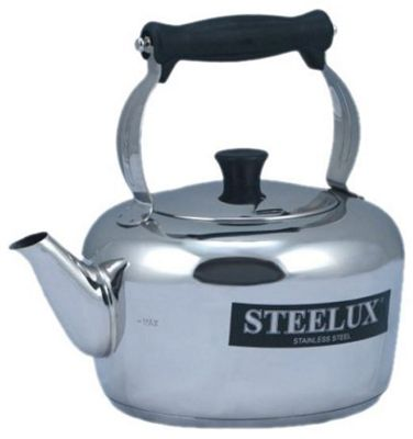 Pendeford Steelux Traditonal Kettle, 4.0L (7-Pint), Silver