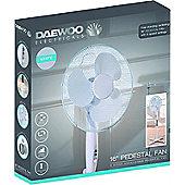 """Daewoo 16"""" Cooling Oscillating Pedestal Stand Fan"""