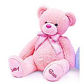 Baby Pink Bobby Teddy Bear 35cm