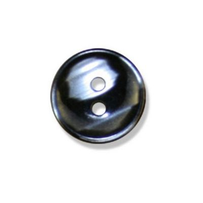 Impex Polyester Stripe Buttons Black 18mm 10pk