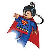 Lego DC Superhero Superman Keylight Keyring
