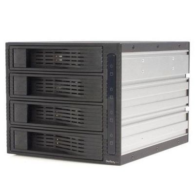 StarTech 4 Drive 3.5in Trayless Hot Swap SATA Mobile Rack Backplane