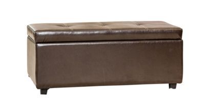 Sofa Collection Otura Storage Footstool - Brown