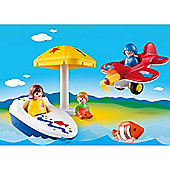 Playmobil 1-2-3 Fun in the Sun