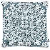 Rocco Portobello Navy Cushion Cover - 43x43cm
