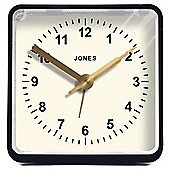 Jones Navy Square Alarm Clock