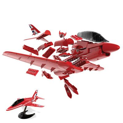 AIRFIX J6018 QUICKBUILD Red Arrows Hawk Aircraft Model Kit