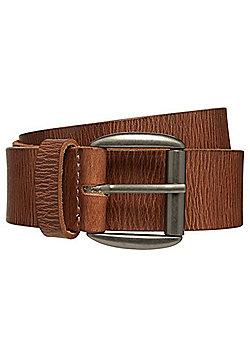 F&F Distressed Leather Belt - Tan