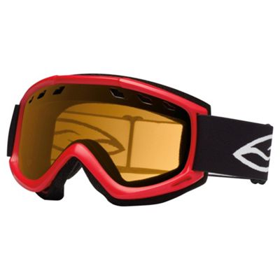 Smith Optics Cascade Air Ski Goggle Fire/Gold lite