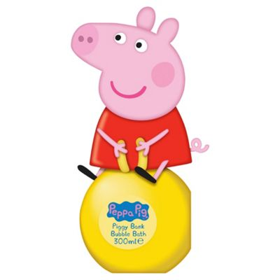 Peppa Pig 3d Bubble Bath Money Box