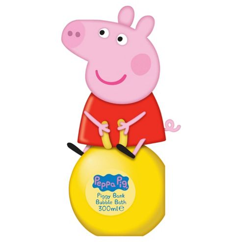 Peppa Pig 3d Bubble Bath Money Box