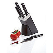 KitchenCraft Five Piece Knife Set and Black Block