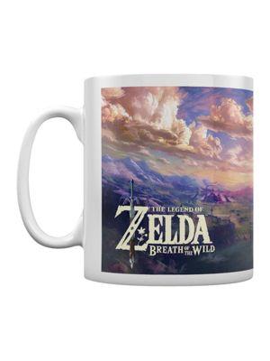 The Legend of Zelda : Breath Of The Wild The Climb Boxed 10oz Ceramic Mug White