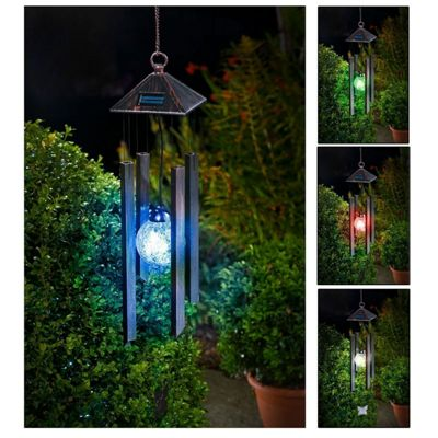 Colour Changing Solar Wind Chime Light