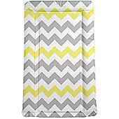 My Babiie Changing Mat (Grey Chevron)