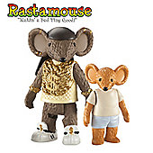 Rastamouse Figure and Accessory Pack- Bagga T and Orphan