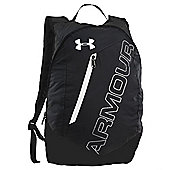 Under Armour Packable Backpack Sports Bag Black/ White