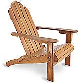 VonHaus Folding Adirondack Chair