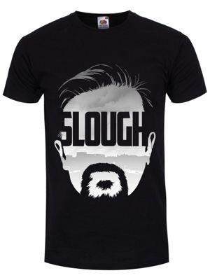 Slough Men's Black T-shirt