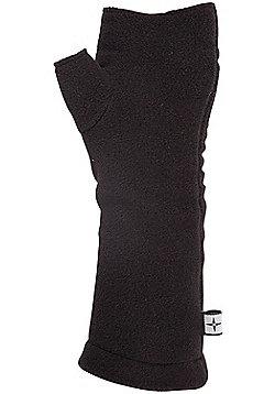 Fleece Women's Hand Warmers - Black