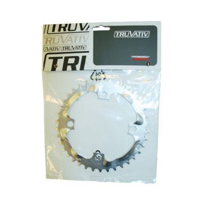 Truvativ Chainring MTB 38t 4 Bolt 104mm BCD Steel Tech Silver