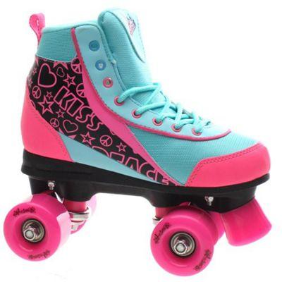 Luscious Retro Quad Roller Skates - Summer Dayz - UK 7