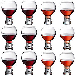 Durobor Alternato Short Stem Wine Glass 410ml And 540ml Set Of