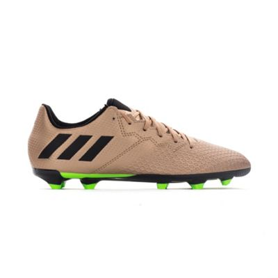 adidas Messi 16.3 FG Kids Football Boot Copper Turbo Charge - UK 10