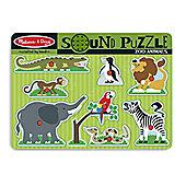 Melissa And Doug Zoo Animals Sound Puzzle
