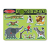 Melissa And Doug Zoo Animals Sound Puzzle