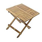 Mini Folding Garden Side Table (Acacia)