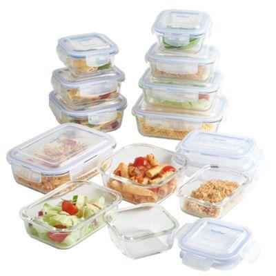 Buy Vonshef 12 Piece Glass Container Food Storage Set From