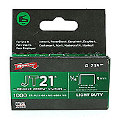 "Arrow JT21 Staples 8mm 5/16"" #215"