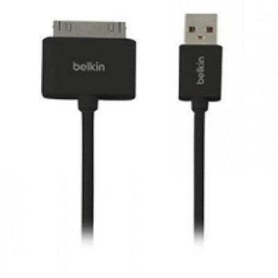 Belkin F2CU005BT1MBK 1m 30-pin USB 2.0 Black mobile phone cable