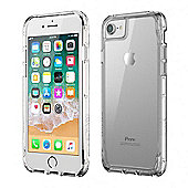Griffin TA43828 Survivor Militry Clear Case Cover│iPhone│8│7│6│Drop Protected│