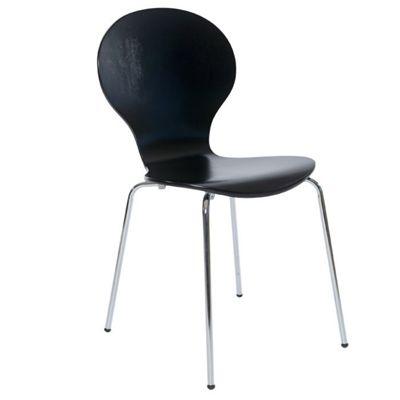 Designa Dining Chair (Set of 4) - Black